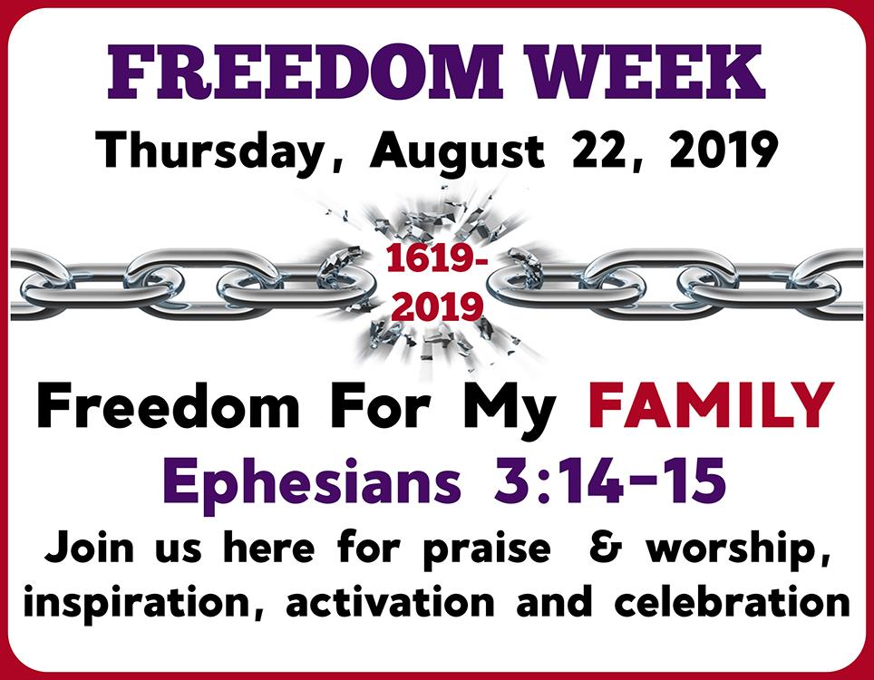 Thursday Freedom Week